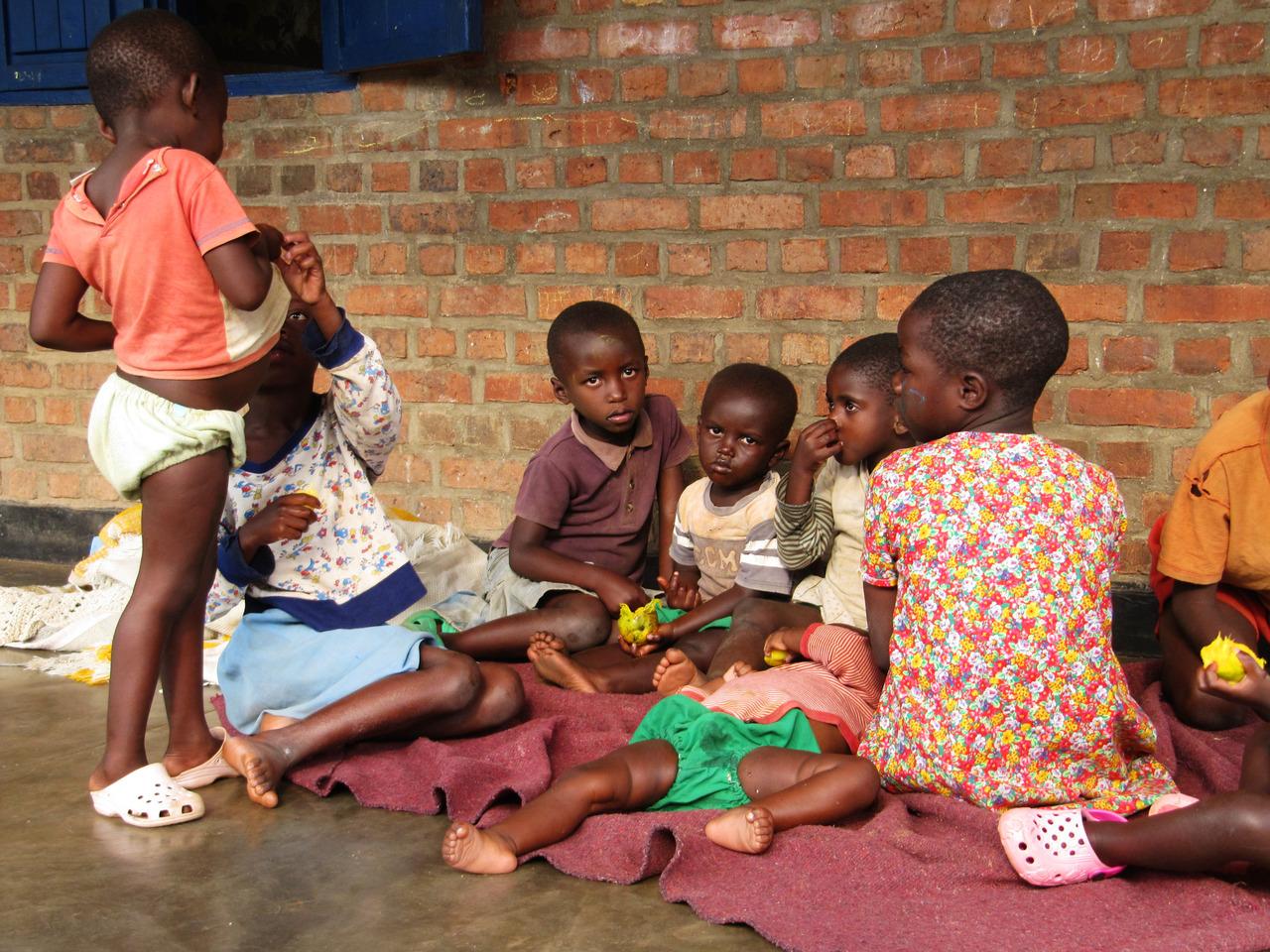 Children at L'Esparance